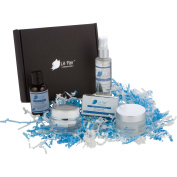 "Black Diamond ""Love Your Face"" Gift Set by Le Fair, with Anti-Ageing Face Cream, Hydrating Facial Mask, Anti-Oxidant Facial Toner, Natural Facial Cleanser, and Age Defying Instant Eye Lift Packets"