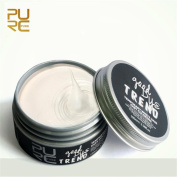 AOJIAN NEW DIY Hair Clay Wax Mud Dye Cream Grandma Hair Ash Dye Temporary