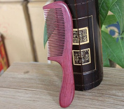 Acupress No Static Handmade Premium Quality Natural Violet Sandalwood Combs Pocket Combs