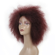 17cm Hair Synthetic Short Kinky Curly Afro Wig Super Fluffy Wigs for Women 100g/Piece