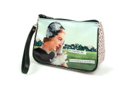 Anne Taintor Matte Vinyl Travel Cosmetic Bag - My Mascara Ran I'm Counting It As Exercise