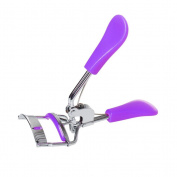 SUMAJU Eyelash Curler, Beauty Eyelash Curler Professional Make Up Tools With 1 Silicone Refill Pads Purple