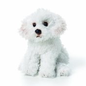 Bichon Frise Beanbag Extra Small , The Nat and Jules Plush Toy Bichon Frise Stuffed Animal was designed with great attention to detail. It features.., By Demdaco