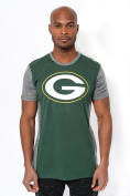 NFL Men's Colour Block Team Logo Short Sleeve T-Shirt