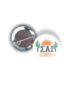 Sigma Alpha Iota Sunset Cactus 5.7cm Button