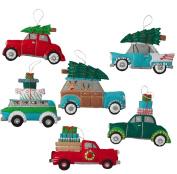 Bucilla Felt Applique Ornament Kit, 15cm by 10cm , 86836 Holiday Shopping Spree