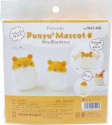 Hamanaka Punyu 2 mascot hamster H441- 446 needle felting kits
