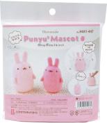 Hamanaka Punyu 2 mascot Rabbit H441- 447 needle felting kits