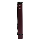 Square Design Poster Tube Collecting Tube Poster Carrying Case Mailing Tube- Dark Red