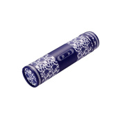 High-end Scroll Holder Seal Damp-proof Collection Drawing Tube Paper Tube 30cm, Blue Flowers