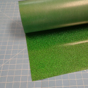 Siser Glitter Green Grass 50cm x 3m Iron on Heat Transfer Vinyl Roll, HTV