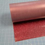 Siser Glitter Burgundy 50cm x 3m Iron on Heat Transfer Vinyl Roll, HTV