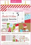 Bella Blvd Freestanding Album Kit-Santa Stops Here