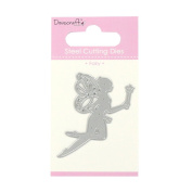 Trimcraft Dovecraft Mini Metal Paper Card Craft Die Set - Magical Fairy
