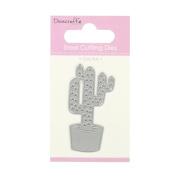 Trimcraft Dovecraft Mini Metal Paper Card Craft Die Set - Prickly Cactus