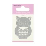 Trimcraft Dovecraft Mini Metal Paper Card Craft Die Set - Barn Owl