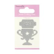 Trimcraft Dovecraft Mini Metal Paper Card Craft Die Set - Plaques