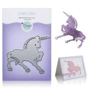 Unicorn Cutting Die – Create Die Cut Unicorn with Metal Cutting Die for DIY Greeting Card Making, Scrapbooking, Paper Crafting Supplies – Animal Shaped Dies by Matty's Crafting Joy