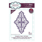 Creative Expressions Craft Die CED4335 Sue Wilson Frames & Tags - Victoria