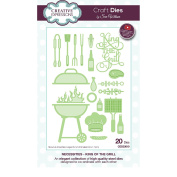 Creative Expressions Craft Die CED23010 Sue Wilson Necessities Collection - King Of The Grill