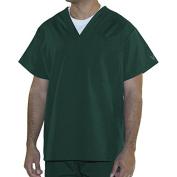 myGuardian with Vestex Protection 403_HG_S Unisex 1 Pocket Scrub Top, Small, Hunter Green