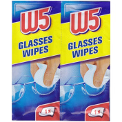 CLEANING WIPES (1 Box - 54 items) Suitable to Clean glasses, cameras, binoculars, car mirrors, helmet visors, computer screens, televisions, mobile phones iphone Android