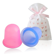 Medical Silicone Massage Cupping Therapy Set by Uharbour for Cellulite Removal and Rlaxing Body