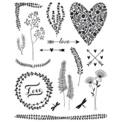 Vegetal Clear stamps - 14 x 18 cm