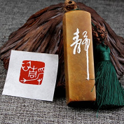 YZ120 Hmay Chinese Mood Seal / Handmade Traditional Art Stamp Chop for Brush Calligraphy and Sumie Painting and Gongbi Fine Artworks / - Jing Xin