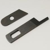 ABBY Upper knife 412585 & Lower Knife 550449 For Singer 14U 14SH 14CG 14CG754 Pfaff 4762 4772 Serger Machine