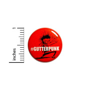 Funny Punk Rock Button Gutterpunk Zombie Cool Rad Backpack Jacket Pin #37-8