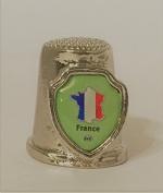 "Country ""France"" Souvenir Thimble"