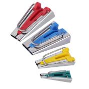 UOOOM Set of 4 Sizes Fabric Bias Tape Maker Tool Kit Sewing Quilting Bias Binding Maker Accessories 6mm 12mm 18mm 25mm