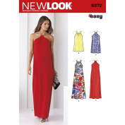 NEWLOOK Sewing Pattern D0611 / 6372 - Misses' Dresses Each in Two Lengths, A