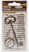 WTKCC105 Stamperia Cling Stamp 6.4cm x 10cm -Key