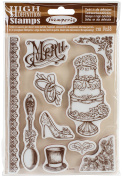 WTKCC102 Stamperia Cling Stamp 14cm x 18cm -Wedding
