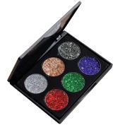 RNTOP Shimmer Glitter Eye Shadow Powder Palette Matte Eyeshadow Cosmetic Makeup