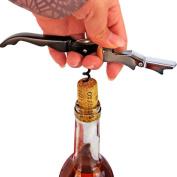 Gillberry Christmas Stainless Steel Opener For Wine Beer Waiters Friend Corkscrew Bottle Cap Opener