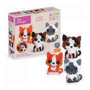 PlushCraft Pack design kitten 3D Minis