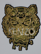 Sequin Patch: Gold KENZO Tiger
