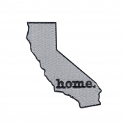 California State Home Iron On Embroidered Applique Patch