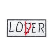 Loser Club Iron On Embroidered Applique Patch