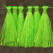 50 Pieces,Tassels in Jasmine Green Colour