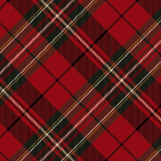 Hallmark Christmas Gift Wrap -Classic Red Plaid Roll Wrap