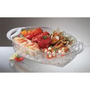 Professional dyne acrylic buffet on ice AB-7 500*295* H115mm
