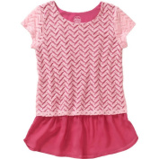 Faded Glory Girls' Lace Two Fer Top