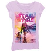 Star Wars Rae Standing Tall Girls' Short Sleeve Graphic Tee