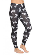 Peanuts Snoopy Boogie All Over Women's Juniors Leggings - X-Small