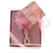 Homeford Baby Rattle Keepsake Souvenir Party Favour, 8.9cm