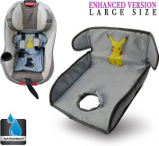 Piddle Pad for Potty Training Toddlers Infants Baby| Car Seat Liner Waterproof / Leak Free Technology | Premium Quality Heavy Duty Seat Saver | Pikachu |Machine Wash & Dry By Alpha-One Sellers
